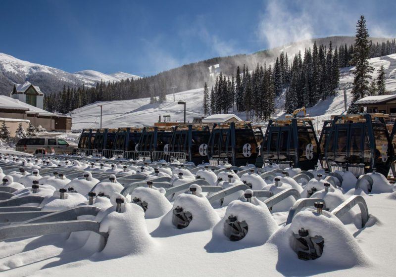Breckenridge, Copper Mountain motels open lifts for summer Friday.