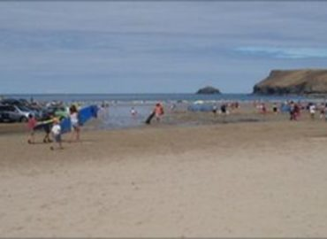 Warnings not to head within the sea at 18 Cornwall seashores remain in vicinity