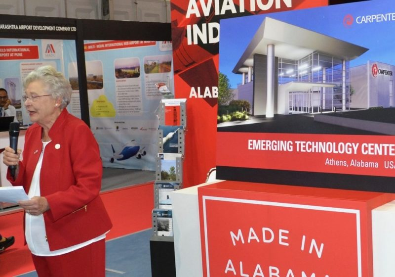 Gov. Ivey to lead Alabama team on European commercial enterprise project