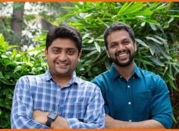 Abhas Desai (CTO) and Vishal Kejariwal (CEO) co-founders of online DIY journey
